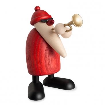 Weihnachtsmusiker mit Trompete