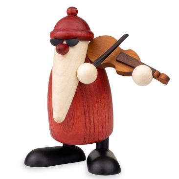 Weihnachtsmusiker mit Geige