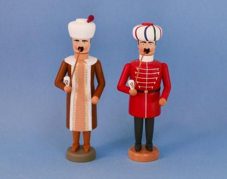 Türke und Osmane (jeweils ca. 21 cm hoch)