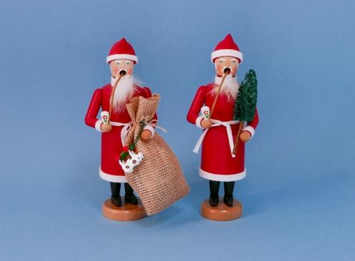 Weihnachtsmänner (jeweils ca. 21 cm hoch)