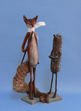 Fuchs 39 cm, Igel 26 cm