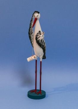 Storch (35 cm hoch)