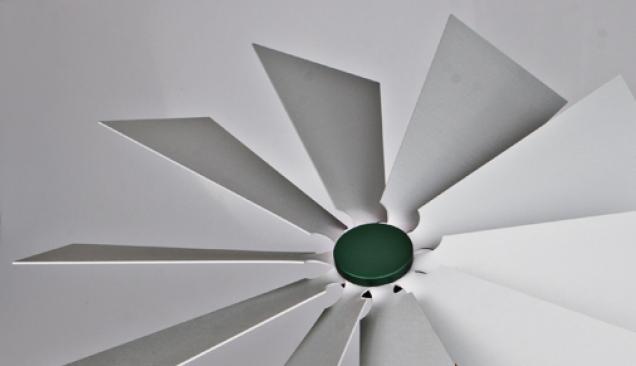 Flügelrad grün
